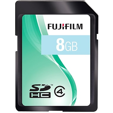 Fujifilm 8GB SDHC (Secure Digital High Capacity) Class 4 Flash Memory Card