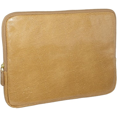 Fabrique Francine Collection Park Avenue 10inch Carrying Case For Tablet PC, Tan