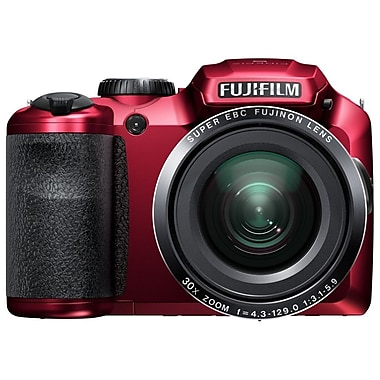 Fujifilm FinePix S6800 16.2 Mega Pixels Digital Camera, Red