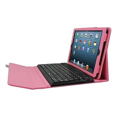 Ergoguys iPad Mini Case with Detachable Bluetooth Keyboard, Pink