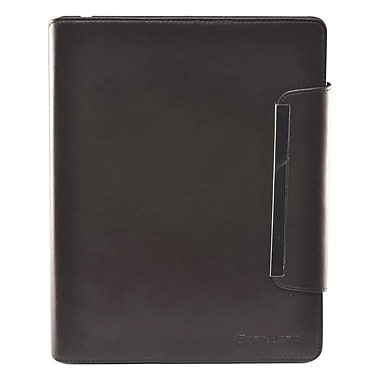 Gear Head™ 4800 Slim Portfolio Carrying Case For iPad 2/3/4, Brown