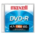 Maxell 4.7GB 16X DVD-R, Jewel Case