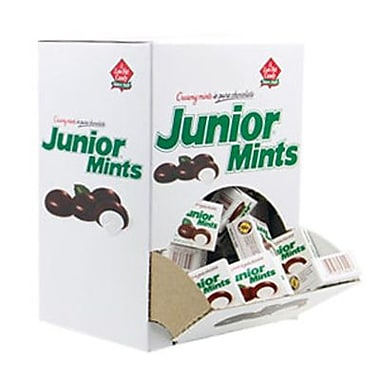 Junior Mints Mini Snack Packs, 72-Piece Box