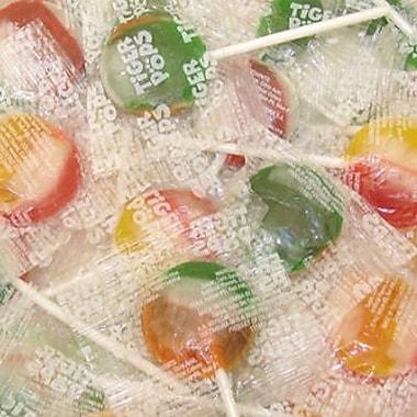 Tiger Pops, 200 Lollipops/Bag