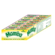 Assorted Mamba Fruit Chews, 48 Bars/Box