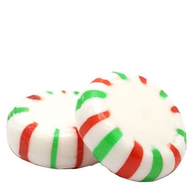 Green, Red, and White Starlight Mints, 5 lb. Bulk
