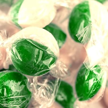 Key Lime Hard Candy Disks, 5 lb. Bulk