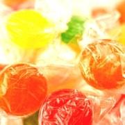 Tropical Fruit Hard Candy Disks, 5 lb. Bulk