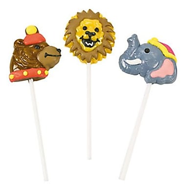 Circus Animal Lollipops, 12 Lollipops/Box