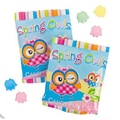 Spring Owls Candy Fun Packs: 35 Count