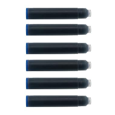 Monteverde® International Size Cartridge For Most Fountain Pens, 6/Pack, Blue
