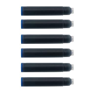 Monteverde® International Size Cartridge For Most Fountain Pens, 6/Pack, Blue