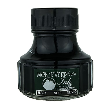 Monteverde® International Size Cartridge For Most Fountain Pens, Black