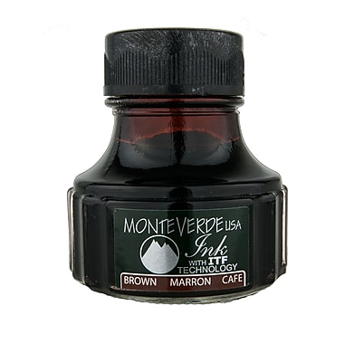 Monteverde® International Size Cartridge For Most Fountain Pens, Brown