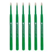 Monteverde® PR133BK Medium Ballpoint Refill For Parker Resin Ballpoint Pens, 6/Pack, Green