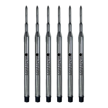 Monteverde® 6/Pack Medium Ballpoint Refills For Sheaffer Ballpoint Pens