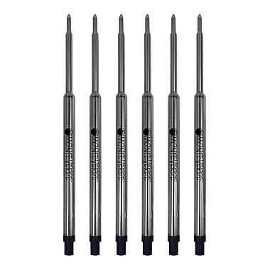 Monteverde® 6/Pack Fine Gel Ballpoint Refills For Waterman Gel Ballpoint Pens