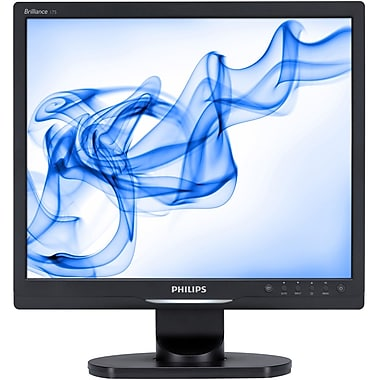 Philips 17S1SB 17in. LCD Monitor, Black