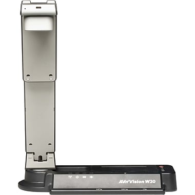 AVer™ AVerVision W30 Wireless Document Camera, 1/2in. Color CMOS 3.2 Megapixel