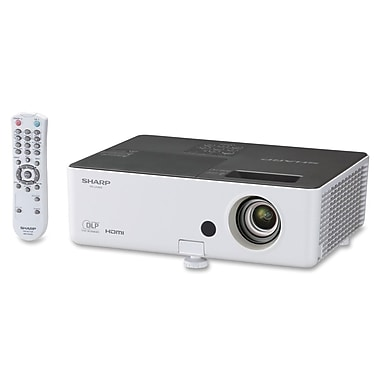 Sharp® PGLW2000 210 W 3D DLP Projector, WXGA