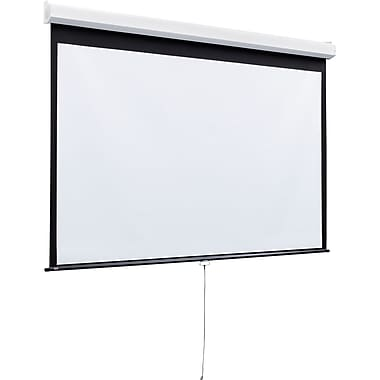 Draper® 206010 170in. Luma 2 Heavy-Duty Projector Screen, 1:1, White Casing