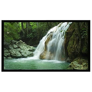 AccuScreens® 800022 96in. Fixed Frame Projection Screen, 4:3, Gray Casing