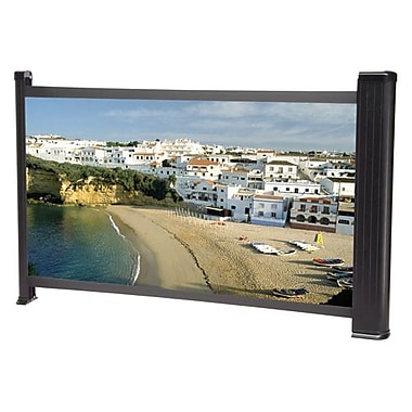 Da-Lite® 230101 Pico Screen 30in. Tabletop Portable Projector Screen, 16:9, Aluminum Casing