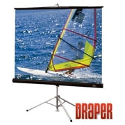 Draper ® Diplomat/R 215024 Manual Tripod Projection Screen, 109""