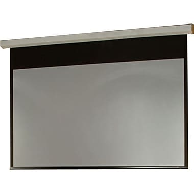 Draper® 116016 84in. Targa Contemporary Motor-In-Roller Electric Projection Screen, 4:3, White Casing