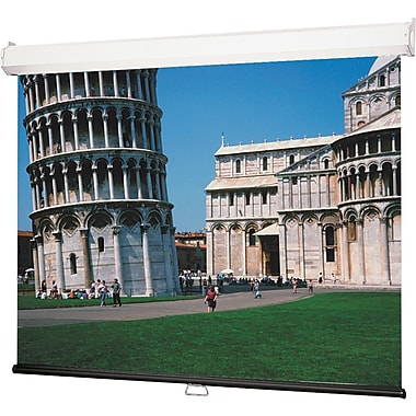Draper® 206176 94in. Luma 2 Manual Projection Screen, 16:10, Grey Casing