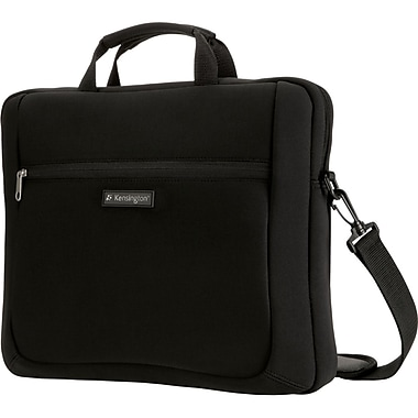 Kensington® Simply Portable SP15 Neoprene Sleeve For 15.4in. Notebook/Laptops, Black