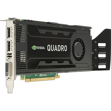 HP® NVIDIA Quadro K4000 Plug-in Card 3GB GDDR5 SDRAM Graphic Card