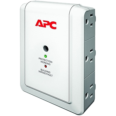 APC® 6-Outlet 1080 Joule Surge Suppressor