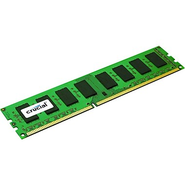 Crucial® 2GB DDR3 (240-Pin DIMM) DDR3 1333 (PC3 10600) Memory Module