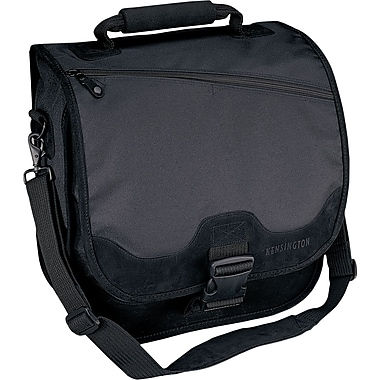 Kensington® SaddleBag Backpack For 15in. Notebook, Black