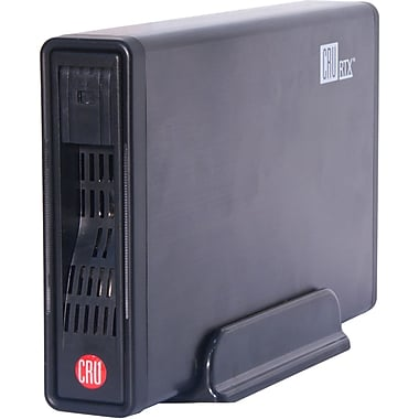 CRU RTX100-3Q Black Storage Enclosure