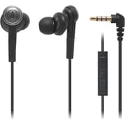 Audio-Technica® ATH-CKS55I Solid Bass In-Ear Headphones With Mic, Volume & Integrated Controls