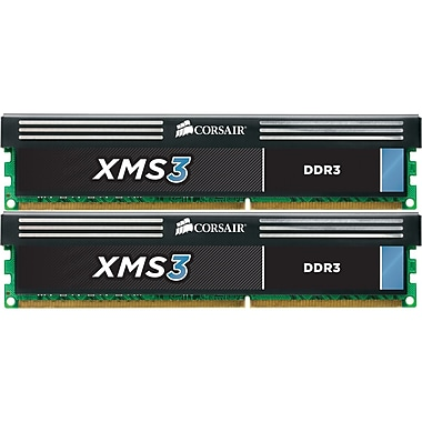 Corsair® XMS3 16GB (2 x 8GB) DDR3 (240-Pin DIMM) DDR3 1600 (PC3 12800) Memory Module Kit