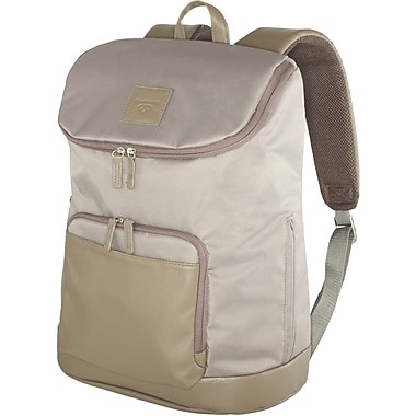 Francine Collection Tribeca Backpack For 16.1in. Notebook, Taupe