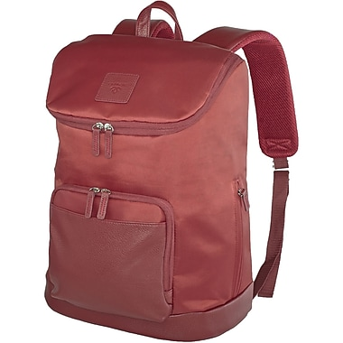 Francine Collection Tribeca Backpack For 16.1in. Notebook, Wine Red