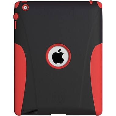 Tridentcase™ Aegis Case For Apple iPad 2/3/4th Gen, Red