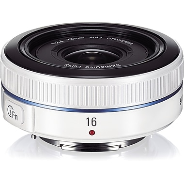 Samsung EX-W16ANW/US 16mm f/22 - f/2.4 Ultra Wide Angle Lens