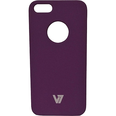 V7® Metro Anti-Slip Case For Apple iPhone 5, Purple