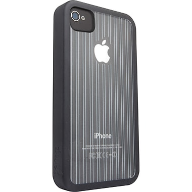 Zagg® ifrogz® Mix Case For Apple iPhone 4/4S, Black/Clear