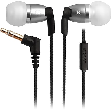 ifrogz® Zagg® Personal Audio Spectra Earbuds With Mic, Silver
