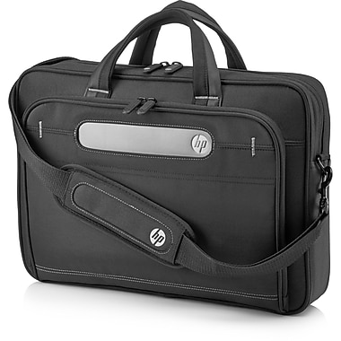 HP® Business Top Load Carrying Case For 15.6in. Notebook, Tablet PC, Ultrabook, Tablet, Black