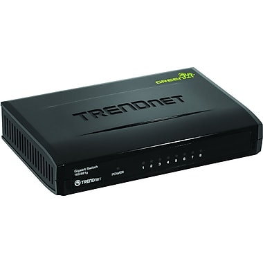 TRENDnet® TEG-S81g 8-Port Gigabit GREENnet Switch