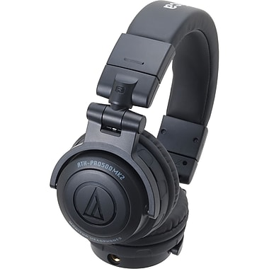 Audio-Technica® Professional DJ Monitor Headphones, Black