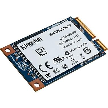 Kingston® SSDNow 60GB mini-SATA 3.0 Solid State Drive