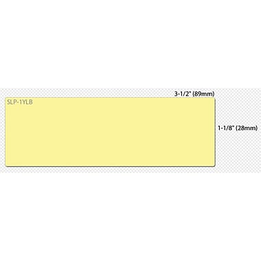 Seiko® SmartLabel Mailing Label, 1.12in.(W) x 3 1/2in.(L), Yellow